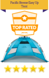 top rated beach camping tent