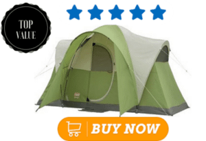 Green family tent
