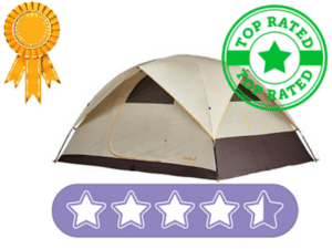 CLICK HERE to find the newest pricing on a top rated Eureka tent.