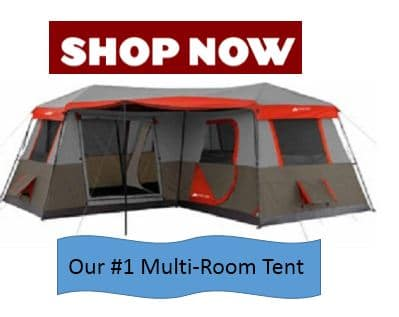 Multi Room Tent- #1 on the list of best 3 room tents
