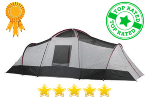 3 room 10 person tent