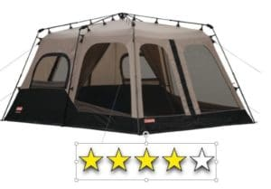 Coleman Instant Family Tent #3 Best Family Instant Tents