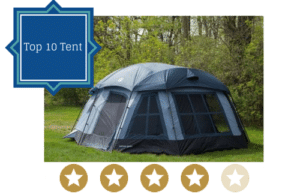 Tahoe family tent for camping
