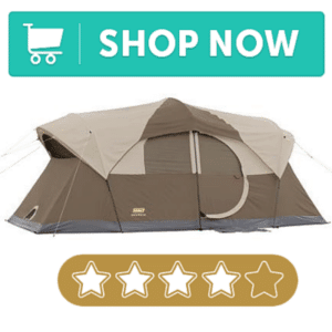 Large tent for cold camping