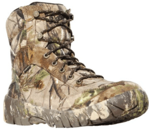 Low cut hunting boots