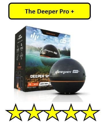 Deeper Pro + Best Portable Fish Finders