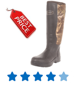 inexpensive rubber hunting boots