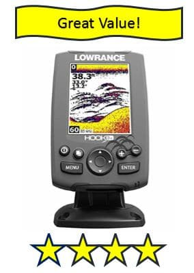 Lowrance Hook-3X Sonar - best cheap fish finders