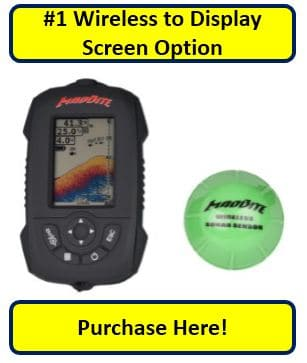 MadBite FX3000 Fish Finder with Wireless Sonar