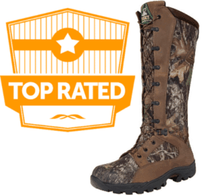 Waterproof snake proof camo boots