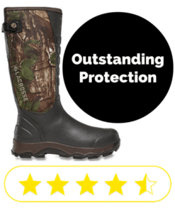 Camo snake proof boots