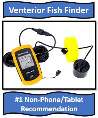 Venterior Portable Fish Finder - On list for best portable fish finder
