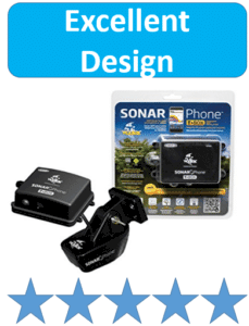 sonar phone packaged fish finder