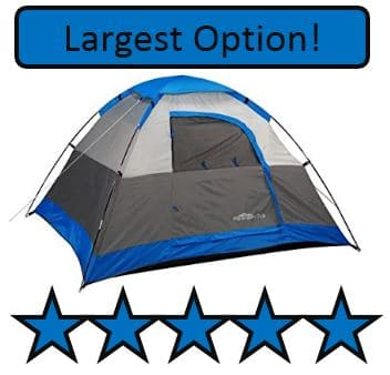 GigaTent Paramount 7' x 6' Camping Dome Tent - best kids outdoor camping tents
