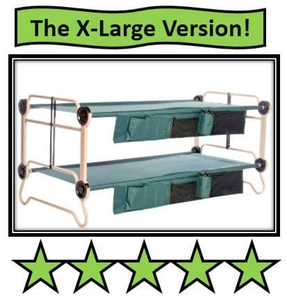 Adult Portable Bunk Bed