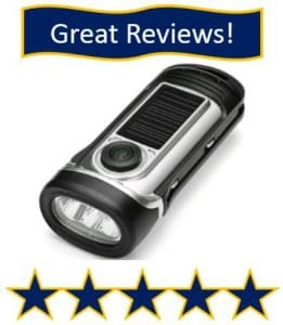 ThorFire Solar Flashlight