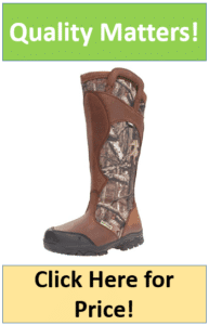 camo snake proof hunting boots