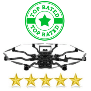 8 rotor flying drone