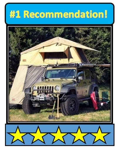 tuff-stuff-overland-rooftop-camping-tent; the best room top tent
