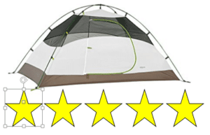 white kelty salida tent pic