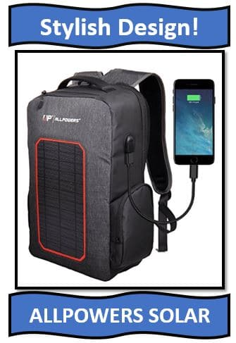 ALLPOWERS SOLAR BACKPACK