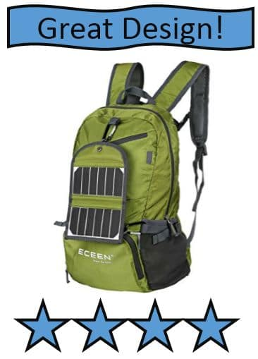 eceen-hiking-daypack - also on best solar powered backpack list