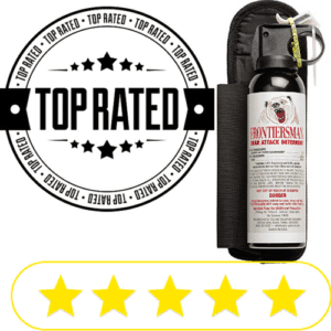 Top rated bear spray cannister