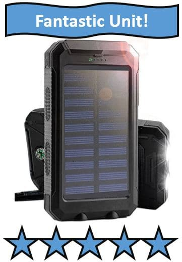 March Solar Charger - Best Portable Solar Battery Chargers