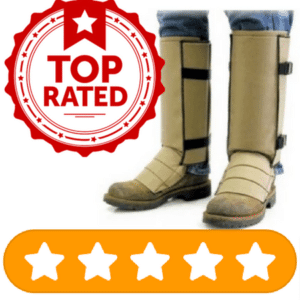 top rated snake gaiters