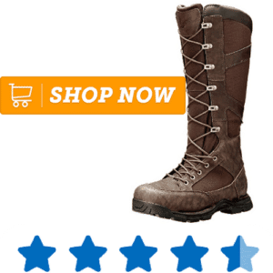 leather hunting boot