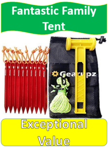 Tent stake replacement kit