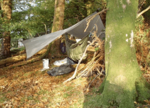 hammock hunting camp