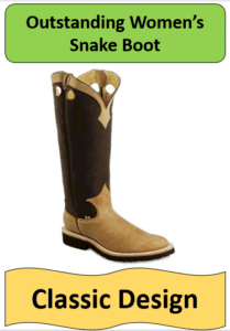 leather tan cowboy boot