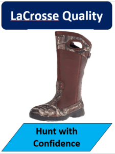 Lacrosse snake proof hunting boot