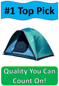 blue family tent
