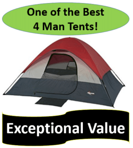 great and red dome tent