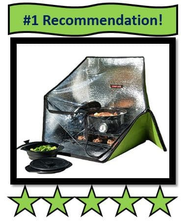 Sunflair Solar Cooker - the best solar cookers