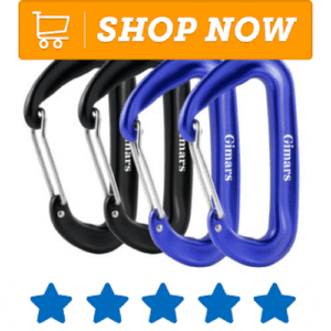 four carabiners