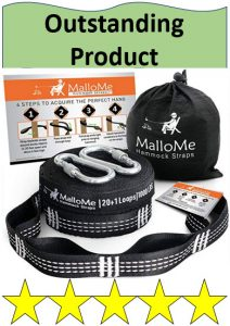 MalloMe hammock, hammock bag, and carabiners