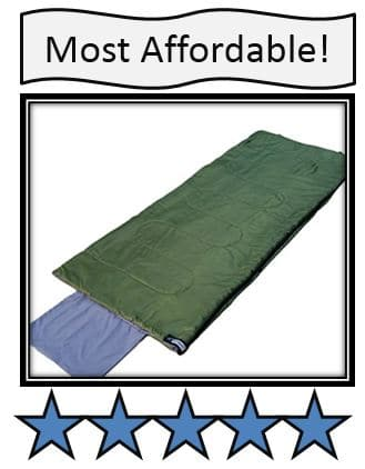OutdoorsmanLab Lightweight Warm Weather Sleeping Bag