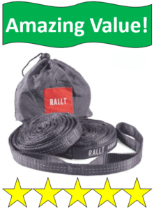 gray rallt hammock straps and bag
