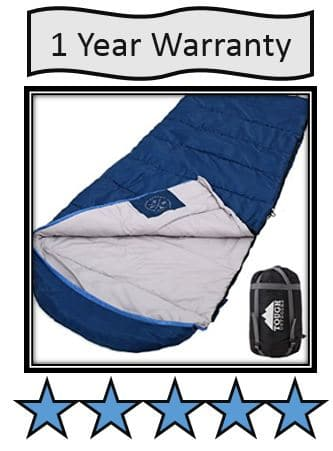 Tough Outdoors XL Hooded Sleeping Bag