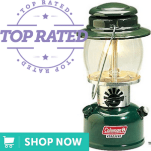 green and silver hurricane lantern
