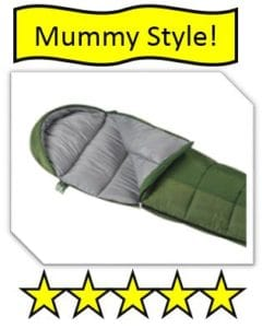 Wenzel Backyard Mummy Style Kids Sleeping bag