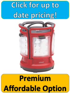 red plastic lantern