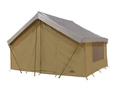 cotton canvas cabin tent