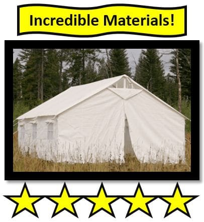 Elk Mountain Wall Tent - Best Canvas Tent