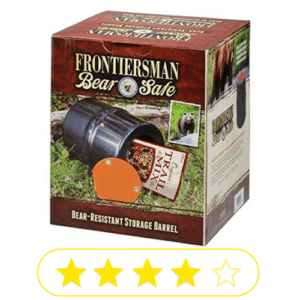 boxed up Frontiersman bear safe