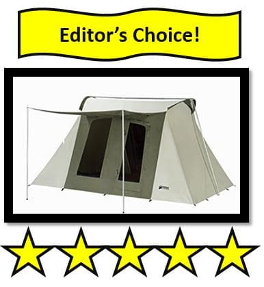 Kodiak Canvas Flex-Bow Deluxe 8-Person Tent - Best Canvas Tents