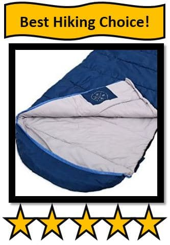 TOUGH OUTDOORS ALL SEASON XL HOODED SLEEPING BAG - on list for best sleeping bags for tall guys